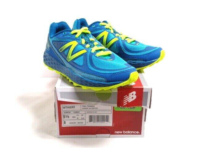 New Ballance Fresh Foam Women HIERRO Trail Running shoes Teal Green Size 5 1 2 M