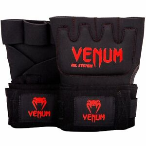 Venum Kontact Boxing Gel Hand Wraps Padded MMA Wrap Gloves Sparring Adult Inner
