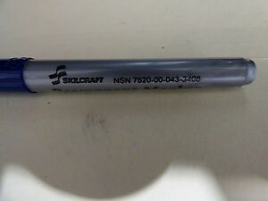 Skilcraft permanent marker NSN7520-00-043-3408 Blue (36pcs)