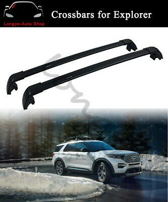 Crossbar Cross Bars Fits For Ford Explorer 2020 Roof Rack Rail Holder Carrier Ebay