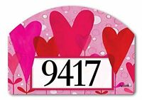 Yarddesign Heart Flowers Yard Sign 71123, New, Free Shipping on sale