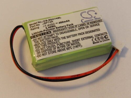 BATTERIE 460mAh POUR Dogtra Receiver 2500T Receiver 2502B