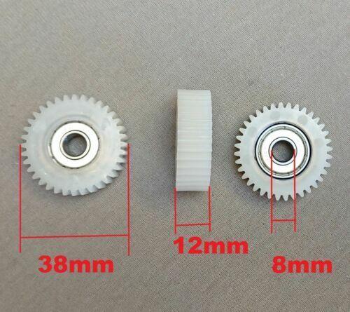Set Zahnräder für Bafang Motoren-Nylon 36 Zähne B:10,6mm Seegerringe 8mm