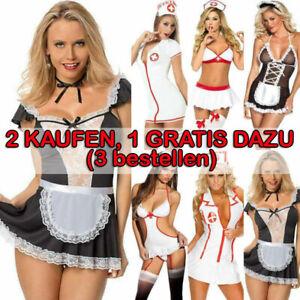 Sexy Frau Maid Uniform Kleidung Nachtwäsche Dessous Erotik Besondere Reizwäsche