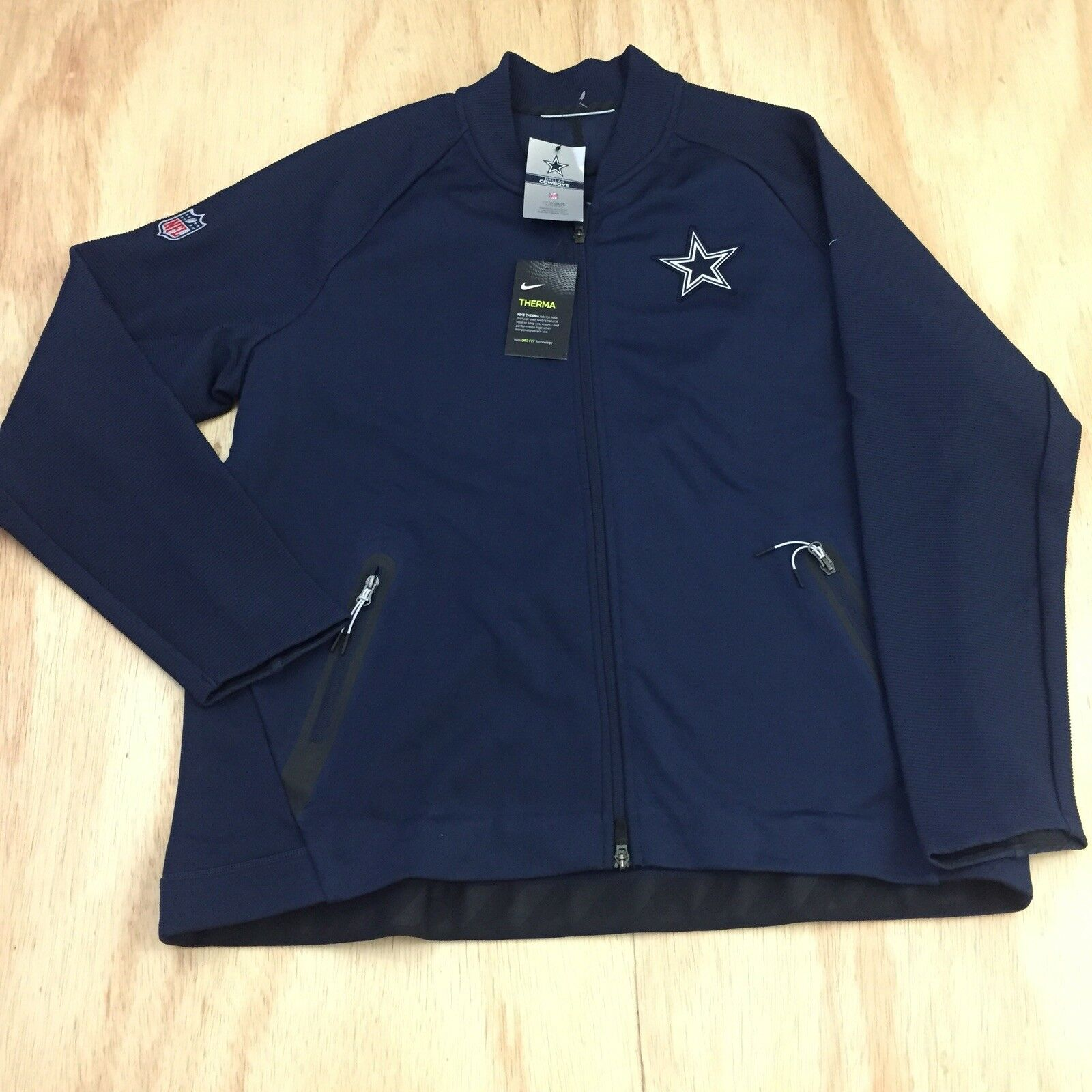 quality design a200c cbd7e Nike on Field Mens Therma Dri-fit Dallas Cowboys Coaches Sideline Jacket 2xl
