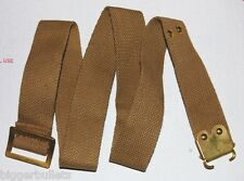 Vintage Military Italian Enfield Rifle Sling - TAN Web - 1948 Surplus Unissued