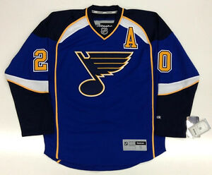 the latest 61e84 5668f Details about ALEXANDER STEEN ST. LOUIS BLUES REEBOK PREMIER JERSEY WITH
