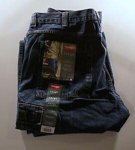 New-Wrangler-Cargo-Jeans-Dark-Stone-All-Sizes-Free-USA-Shipping-17-Worldwide