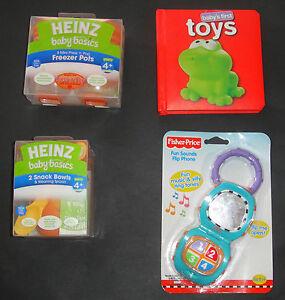 BRAND-NEW-Baby-Mixed-Items-Heinz-Freezer-Pots-Fisher-Price