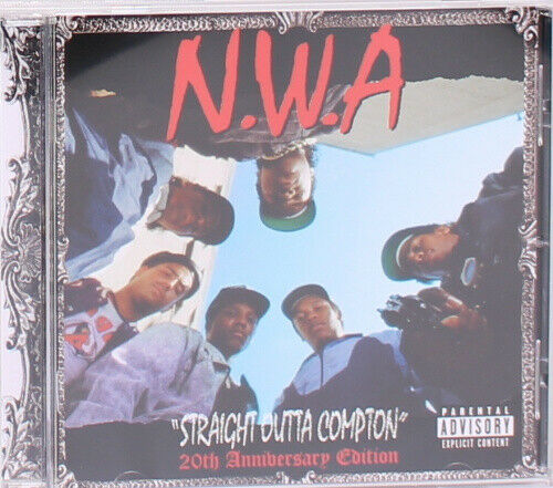 Straight Outta Compton 20th Anniversay Edition CD by NWA 1Disc by NWA.