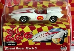 Johnny Lightning SPEED RACER MACH 5 COLLECTIBLE MOVIE CAR MIJO EXCLUSIVE 1/4800