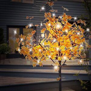 Baum äste Deko 450 led deko baum außen garten stand leuchte terrasse äste blätter