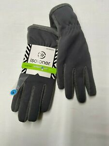 Womens-ISOTONER-Gray-Active-Smartouch-Gloves-Sz-XL-NEW-NWT
