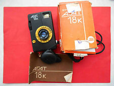 AGAT 18K Unusual Vintage Half frame Russian camera in BOX.