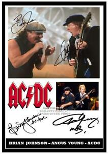 073-AC-DC-Angus-Young-amp-Brian-Johnson-Signed-a4-Photogragh-great-gift