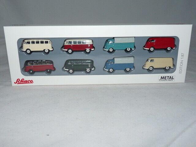 Schuco 26408 VW T1 - 8-er Set 1 87 NEU + OVP