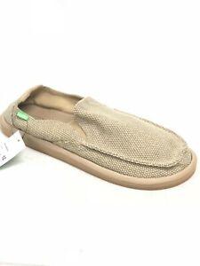 Sanuk-Homme-Vagabonded-Chaussures-a-Enfiler-Naturel-Fauve-Tisse-1015926-Trottoir