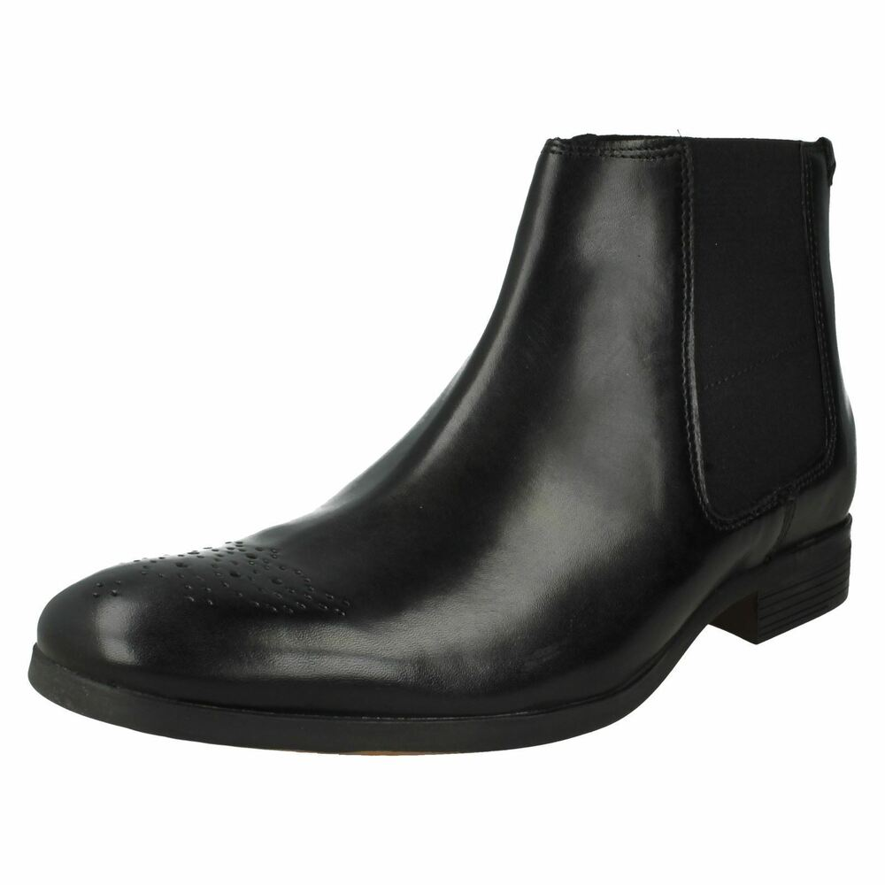 Clarks Gilmore Chelsea Hommes Bottines Cuir Cheville