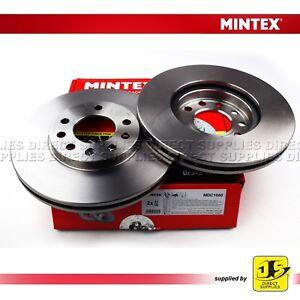 2X-Dischi-dei-freni-anteriori-Mintex-MDC1050-Vauxhall-Astra-Astravan-COMBO-MERIVA-ZAFIRA