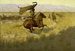 Change-of-Ownership-by-Frederic-Remington-Giclee-Reproduction-Canvas