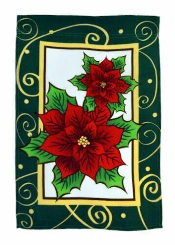 Garden Flag 12x18in Holiday Seasonal USA Sunflowers Christmas Novelty Yard Flag