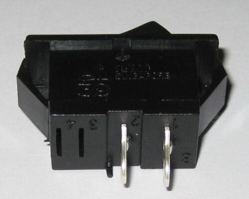 1//2 HP Swann Industries 39 Miniature Rocker Switch 125V AC 15A SPST