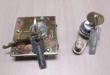 Medeco Lock set for GTE or Quadrum Payphone