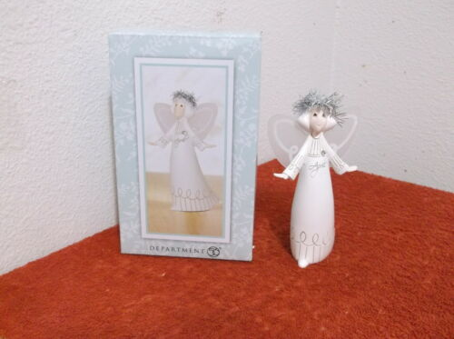 "DEPARTMENT 56 ANGEL 5"" FIGURINE named WHISPERS..made OF RESIN MATERIAL"