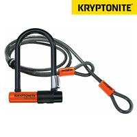 Kryptonite Evolution Mini 7 Bike Lock With 4ft Flex Cable & Frame Bracket