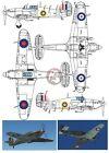 Peddinghaus 1/72 Hurricane Mk.I Markings Bob Stanford Tuck Autumn 1940 WWII 2305