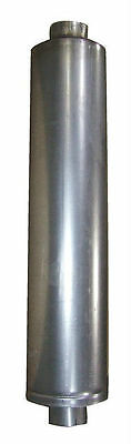 """Diesel Muffler - 5"""" ID Inlet and Outlet - 10"""" Dia.- 44-1/2"""" Body Length 51"""" OAL"""