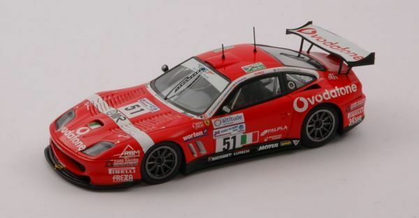 Ferrari 550 Maranello 2005 Rot 24h Le Mans 1//43 By ixo Modell Auto Modellauto So