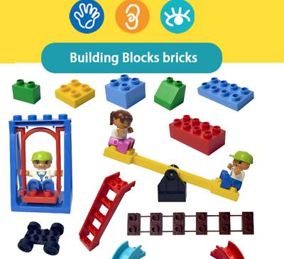 Compatible With Duplo Lego Train 10882 10506 Accessory Set Rail Building Trailer