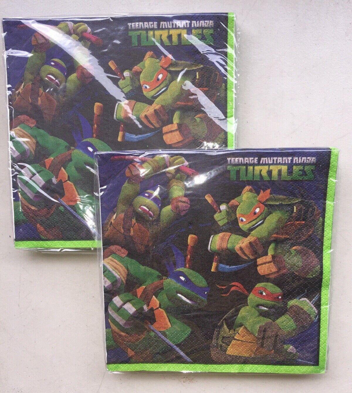 Teenage Mutant Ninja Turtles Lunch Napkins . 16-Pack
