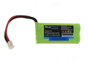 Akku für Philips DECT 211 DECT 215 DECT 215 Trio Festnetz Telefon Batterie Accu