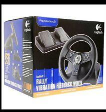 VOLANTE Logitech Rally Vibration Feedback Wheel