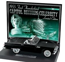 FRANKLIN MINT 1955 FORD THUNDERBIRD MARILYN MONROE B11G467 NEW