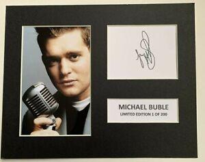 Michael Buble Autograph Signed Photo Print