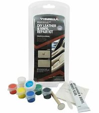 Leather Vinyl Repair Kit Fix Car Boat Seat Rips Burns Holes Leather Furniture