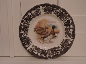Image is loading Vintage-Royal-Worcester-Palissy-Game-Series-Mallard-Ducks- & Vintage Royal Worcester Palissy Game Series Mallard Ducks Dinner ...