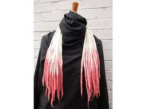 Blonde-and-Orchid-Pink-Transitional-Dreadlocks-16-Handmade-felted-wool-dreads