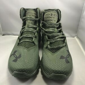 Under-Armour-UA-Project-Rock-Delta-DNA-Shoes-Dark-Green-Mult-Size-3020175-300