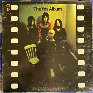 Yes – The Yes Album : 1977 Vinyl LP Monarch Pressing Atlantic SD 19131 VG+