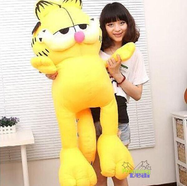 GIANT big 55  Garfield HUGE plush SOFT STUFFED DOLL KIDS TOYS doll Birthday GIFT
