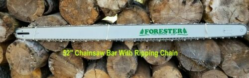"""52/"""" Chainsaw Bar And Ripping Chain Sprocket Nose Bar 3//8 .063 156DL Fits Stihl"""