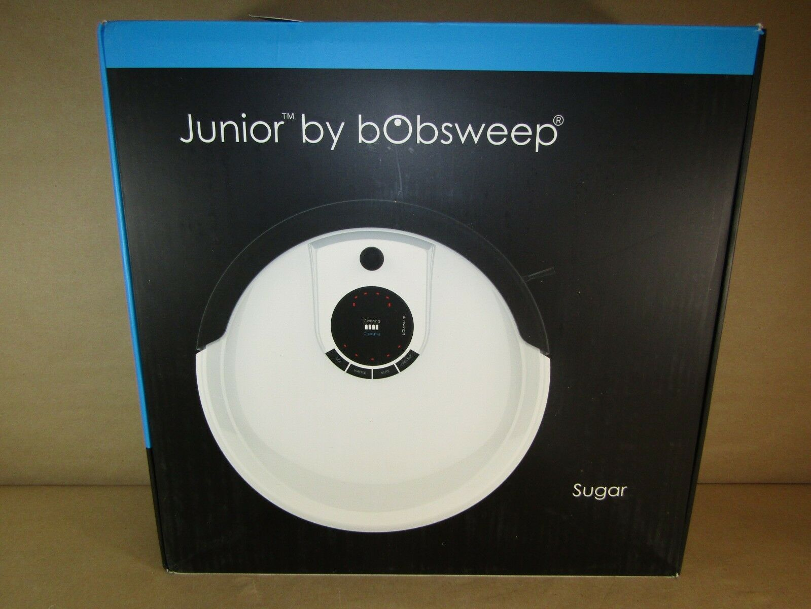 Sugar//White bObsweep WJ540011 Robotic vacuum
