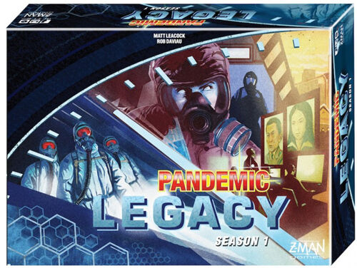 Pandemic Legacy bluee Board Game