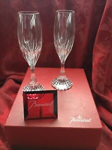 f56a80c2340f Image is loading MIB-FLAWLESS-Exquisite-BACCARAT-France-Two-MASSENA-Crystal-