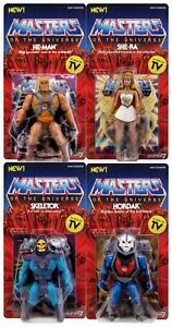 Neo Vintage Collection SUPER 7 WAVE 1 MOTU Masters HE MAN SKELETOR HORDAK SHE RA