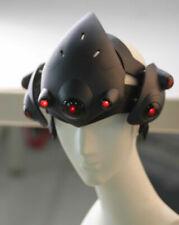 Top Overwatch Widowmaker Helmet Emily Rakova Black OW LED Mask Cosplay Props